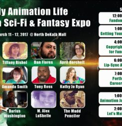 My Animation Life's Panels and Workshops for all artist!