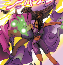 "Creation Spotlight: ""Sazz"" from Native Comics"
