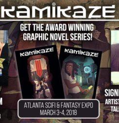 VENDOR SPOTLIGHT: The Kamikaze Webcomic Team